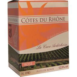 Côtes du Rhône, vin rosé