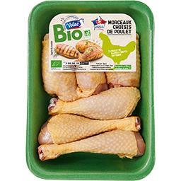 Morceaux assortis de poulet fermier BIO
