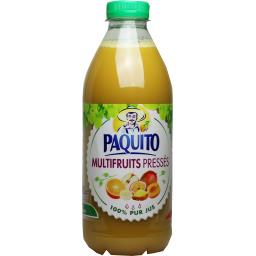 Paquito Jus multifruits pressés la bouteille de 1 l