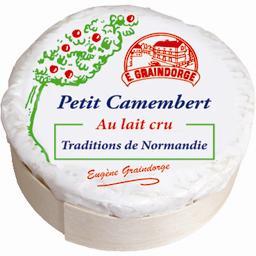 Petit camembert au lait cru