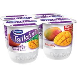 Taillefine Aux Fruits - Yaourt brassé mangue les 4 pots de 125 g