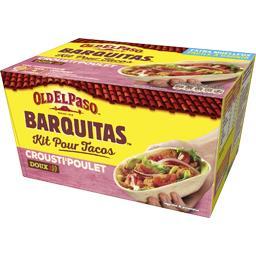 Old el Paso Kit pour tacos avec Panadillas Doux Crousti'poulet la boite de 351 g