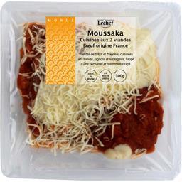 Moussaka cuisinée aux 2 viandes bœuf origine France