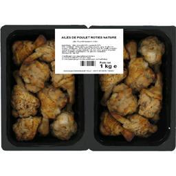 Ailes de poulet rôties nature
