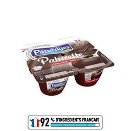 Paturette - Crème dessert chocolat noir