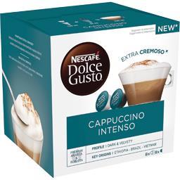 Dolce Gusto - Dosettes de café Cappuccino Intenso