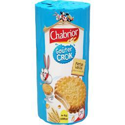 Goûter crok, biscuits fourrés parfum vanille x15, le paquet,CHABRIOR,1 null