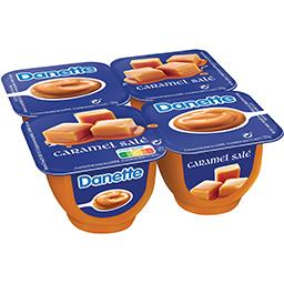 Danette - Crème caramel salé