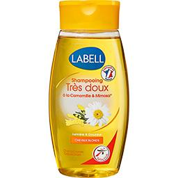 Shampooing très doux camomille & mimosa, cheveux blo...