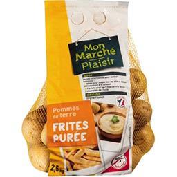 Pommes de terre frites/purée