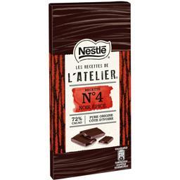 Les Recettes de L'Atelier - Chocolat noir épicé Recette N°4