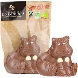 Hippopotame chocolat au lait BIO
