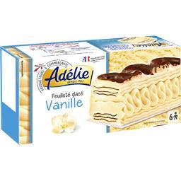 Feuilleté glacé vanille