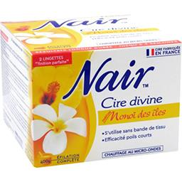 Nair Cire Divine - Cire micro-ondable parfum Jardin d'Ede...