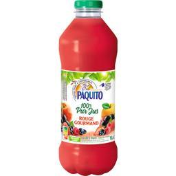 Paquito Jus rouge gourmand 100% pur jus la bouteille de 1 l