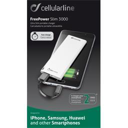Chargeur portable ultramince et rapide blanc