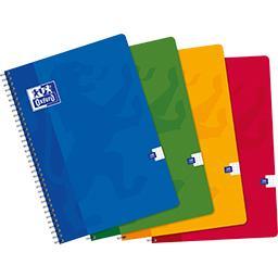 Cahier intégrale 210x297 90 g Q 5/5 coloris assortis