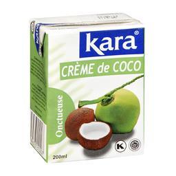 Crème de coco