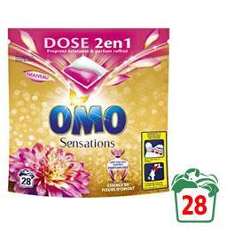 Lessive en capsules 2 en 1 essence de fleurs d'Orient