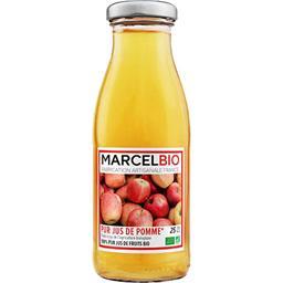 Marcel Bio Jus de Pomme Bio 100% Pur Jus 250 ml -