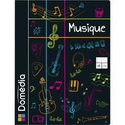 Cahier de musique piqure 170x220 seyès