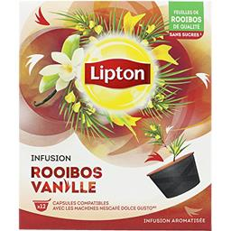 Capsules infusion rooibos vanille
