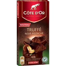 Chocolat truffe noir pistache