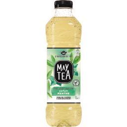 Thé infusé glacé thé vert parfum menthe faible en ca...
