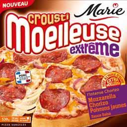 Crousti Moelleuses - Pizza Extrême L'Intense chorizo