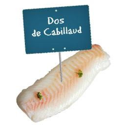 Dos de CABILLAUD