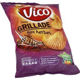 Chips saveur grillade aux herbes