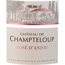 vin Rosé d'Anjou Château de Champteloup vin Rosé 201...