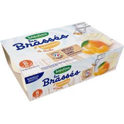 Les Brassés - Dessert lacté mandarine, de 8 à 36 moi...