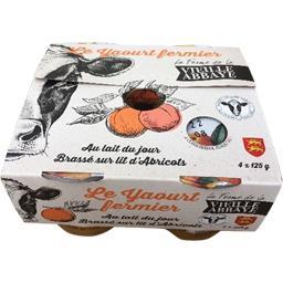 Le Yaourt fermier brassé sur lit d'abricots