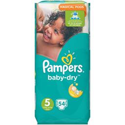 Pampers Couches Baby-dry, taille 5 : 11-23 kg