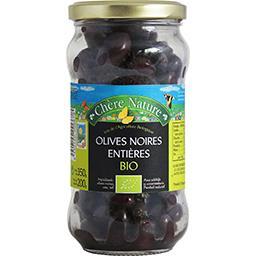 Olives noires confites BIO