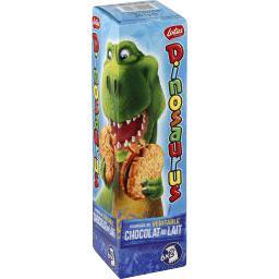 Biscuits Dinosaurus fourrage au véritable chocolat au lait