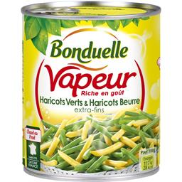 Vapeur - Haricots verts & haricots beurre extra-fins