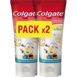 Colgate Dentifrice anti-caries Minions pour enfants menthe d... les 2 tubes de 50 ml