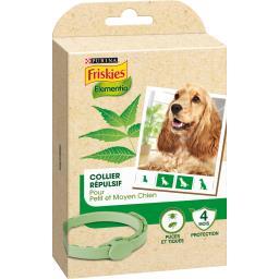 Collier répulsif Elementia puces et tiques petit/moyen chien