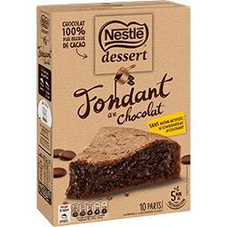 Dessert - PréparationFondant au chocolat
