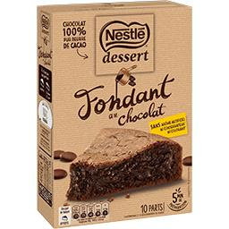 Dessert - Fondant au chocolat