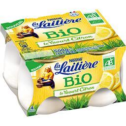 Le Yaourt citron BIO