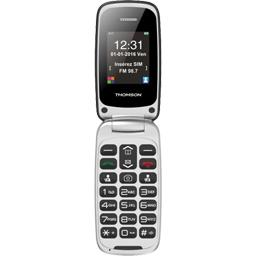 Téléphone mobile à clapet 2,4'' avec base de recharge