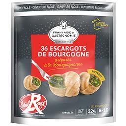 Française de Gastronomie Escargots de Bourgogne à la bourguignonne Label Roug...