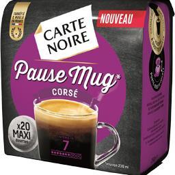 Dosettes de café moulu Pause Mug, corsé
