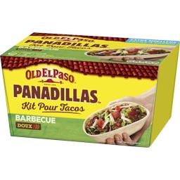 OLD EL PASO PRET A CONSOMMER KITS BASE PANADILLA PANADILLAS TACOS AVEC PANADILLAS BARBECUE 350G STD