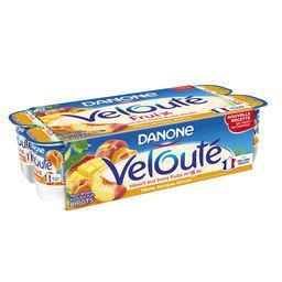 Danone Danone Velouté Fruix - Yaourt brassé pêche, mangue, abricot