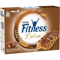 Fitness - Barre de céréales Délice chocolat au lait