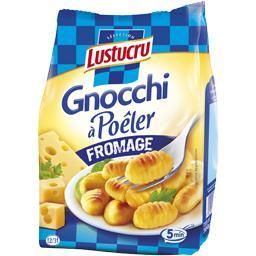 Gnocchi à poêler fromage